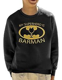 Batman My Hero Is Barman Kid's Sweatshirt