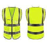 EYROS ,Gilet de sécurité/Veste réfléchissante visibilité pour la sécurité des conducteurs...
