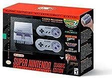 Super Nintendo Entertainment System Classic Mini Edition SNES Console (Region Free US English Version)