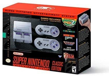 Foto Super Nintendo Entertainment System Classic Mini Edition SNES Console (Region Free US English Version)