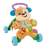 Fisher-Price Trotteur Puppy pour apprendre à bébé à marcher avec musique et...