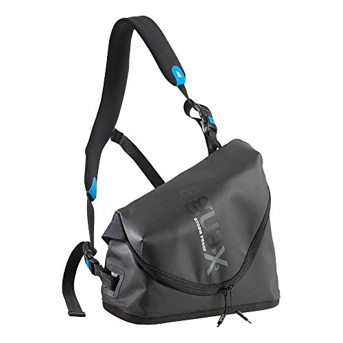 Miggö mwag-tsp-bb-65–Wasser Stormproof Torso Tasche (Messenger Bag Schwarz Kunststoff)