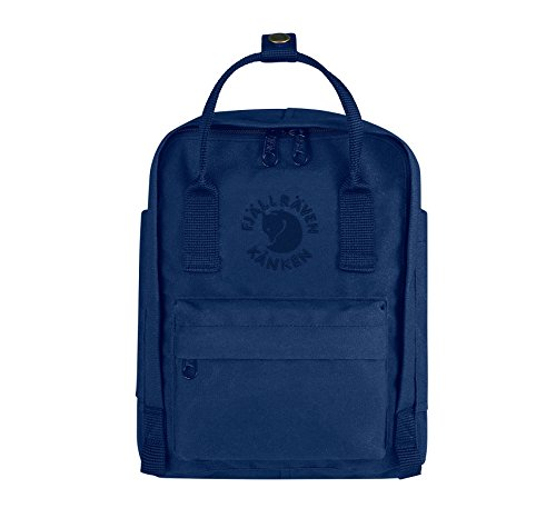 Fjällräven Re-Kånken Mini Rucksack, Midnight Blue, 29 x 20 x 13 cm, 7 Liter