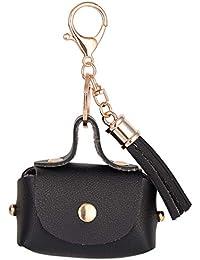 Underleaf Sac à Main Noir créatif Style Kechain Porte-clés Sac à Main Charme  Pendentif c39c670f110
