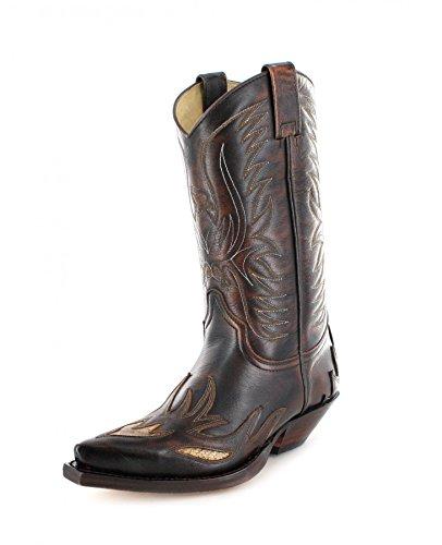 Sendra Boots 4250, Stivali uomo Marrone marrone, Marrone (Jacinto Tranparent Pyton), 36