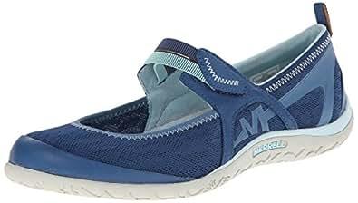 Merrell Ladies Enlighten Eluma Breeze Urban Shoes J21740 Blue