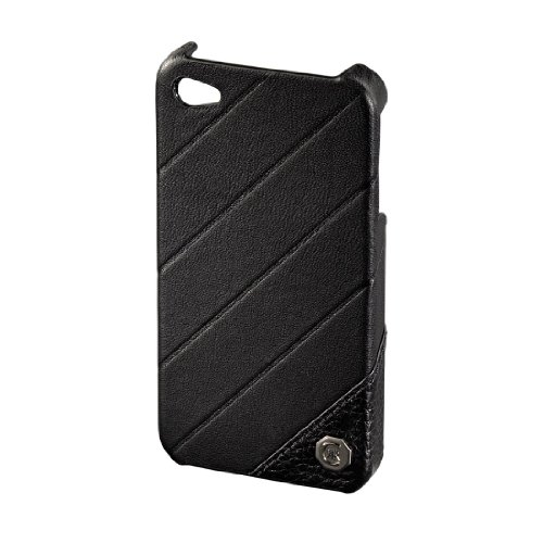 Cerruti 1881 Handy-Cover für Apple iPhone 4 schwarz schwarz