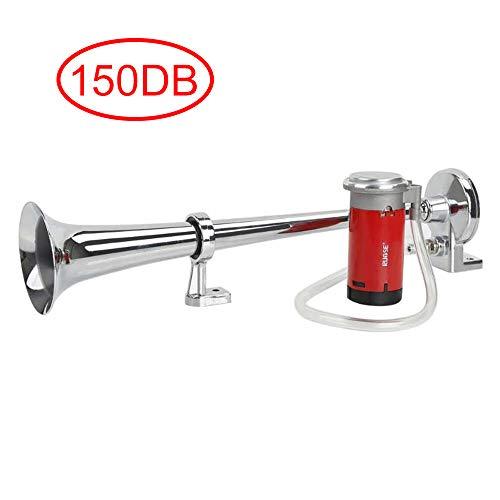 Rupse Hupe Luft Horn , Lufthorn Drucklufthorn auto Horn mit Kompressor 150db 12V für PKW LKW Booten Motorrädern -