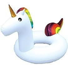 Ardisle gigante inflable unicornio flotador de agua balsa verano piscina piscina ocioso playa anillo