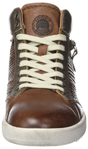 Kickers Happyzip, Baskets Hautes Femme Marron (Marron Clair Bronze)