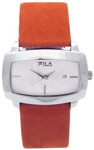Fila–Reloj de cuarzo para mujer con esfera de color negro analógico pantalla Cuarzo Acero Inoxidable 521327