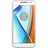 Moto G4 - Smartphone libre Android (5.5'', Full HD, 4G, 13 MP, 2 GB de RAM, 16 GB), color blanco
