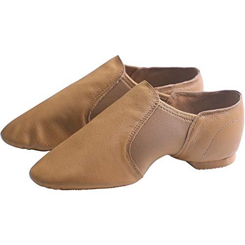 Coach Womens Heels (YAN Women es Dance Shoes Ballet Shoes Leder Soft Bottom Training Schuhe New Elastic Coach Schuhe Adult Jazz Dance,A,40)