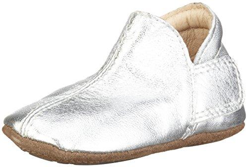 EN FANT Mädchen Adventure Slipper Pantoffeln Silber (silver 01)