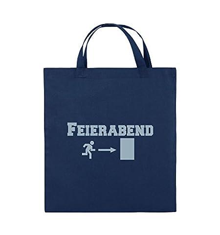 Comedy Bags - FEIERABEND - EXIT - Jutebeutel - kurze