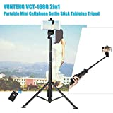 Yunteng VCT-1688 Bluetooth Kumandalı Tripodlu Selfie Çubuğu