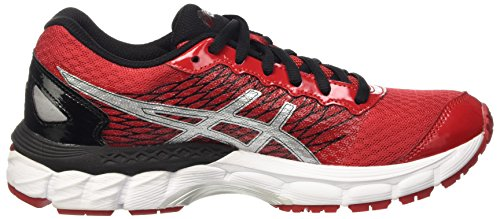 Asics Gel-Nimbus 18 Gs, Scarpe da Corsa Unisex – Bambini Multicolore (True Red/Silver/Black)