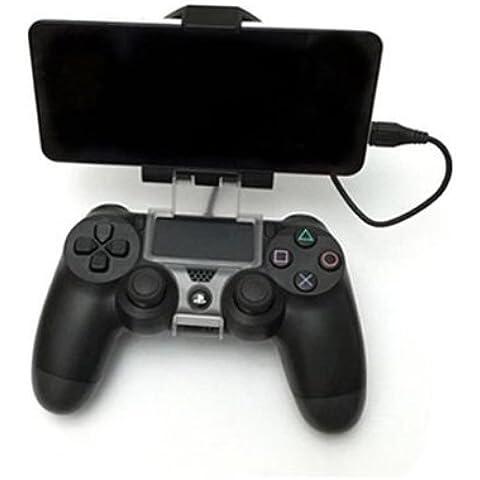 laixing alta calidad Soporte de almacenamiento Soporte de teléfono inteligente para controlador de PS4DualShock