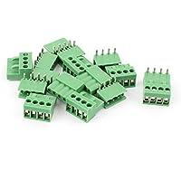 8 Par Pitch 3.96 mm 4 vías / pin tornillo enchufable bloque de terminales del conector