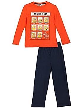 Minions pijama para niño, pantalone y camisa con mangas largas 3 años