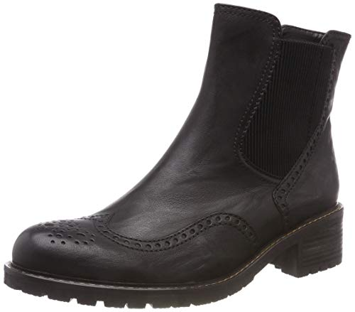 Gabor Shoes Damen Comfort Basic Stiefeletten, Schwarz (Mel.) 17, 40.5 EU