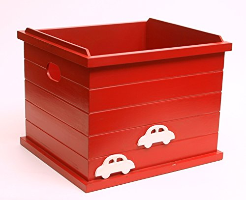 FLY FROG Kids Toy Storage:Red Car