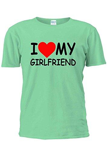 I Love My Girlfriend Girl Friend Heart Tumblr Fashion Unisex T Shirt Top Men Women Ladies-XXL