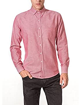 [Sponsorizzato]Vegea Camicia Uomo Slim Fit Oxford