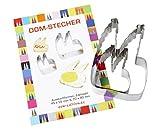 2 Ausstechformen 'Dom-Stecher'