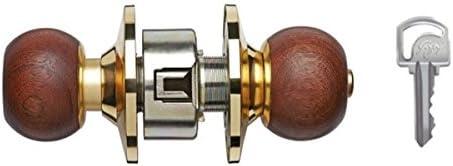 Godrej Classic Cylindrical Lock (Wooden) (Paid Installation)