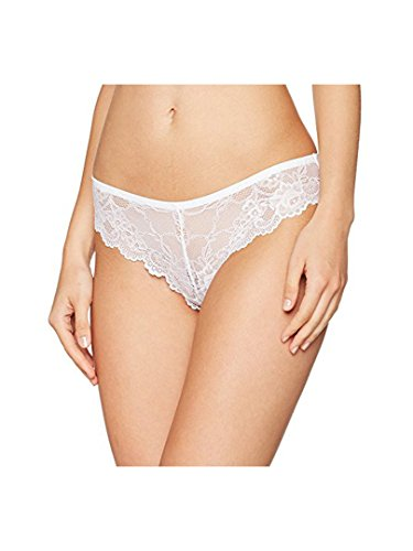 Triumph Tempting Lace Brazilian String 4er Pack White