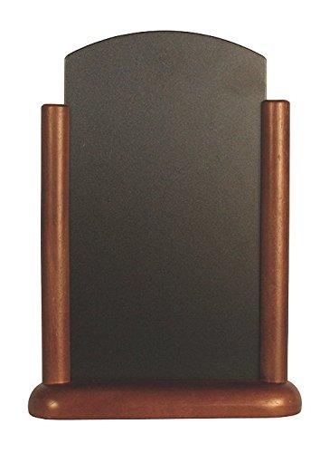 Elegante Tableboard Farbe: Dunkles Holz. Abmessungen: 150 x 210mm.