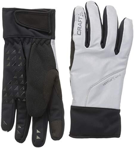 Craft sibériens Glow Handschuhe Langlauf Unisex XL Silber/schwarz