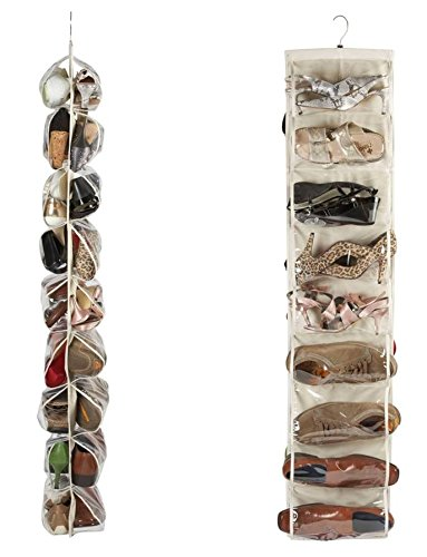 heavy-duty-18-pocket-hanging-shoe-organiser-for-the-wardrobe-rail-for-up-to-18-pairs-robust-oxford-c