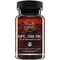 OPC 500 mg alte dosi - da estratto di semi d'uva - Capsule Vegan (60 capsule vegetali)