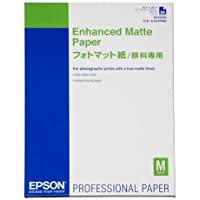 Epson 322763 - Enhanced Matte Photo Paper - Pack of 50 sheets