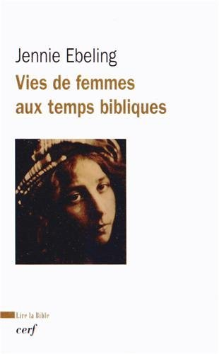 Vie des femmes aux temps bibliques