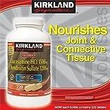 Kirkland Signature Extra Strength Glucosamine / condroitina 220 Tablets Coc245375