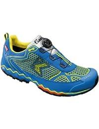 Kastinger Outdoor Trekking Mountaineering Boots K-1 Speed Blue / Yellow - Hiking Boots
