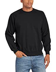 Fruit of the Loom Herren, Sweatshirt, Raglan Sweatshirt
