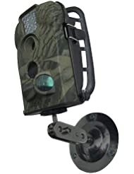 Berger + Schröter Montagehalterung für Wildkamera - Detector para Caza, Color Negro