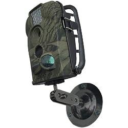 Berger & Schröter Montagehalterung für Wildkamera - Detector para caza, color negro