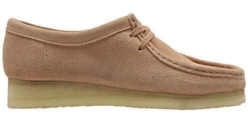 Clarks - - Frauen Wallabee. Schuh, 39 EUR, Sandstone Suede -