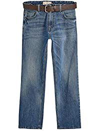 Next Homme Jean Stretch avec Ceinture Coupe Ample 62277eed123