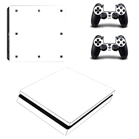 Stillshine PS4 Slim Vinyl Skin Decal Full Body Sticker For Sony Playstation 4 Slim Console & 2 Dualshock Controllers (All