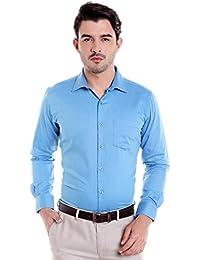 Donear NXG Mens Formal Shirt_SHIRT-1362-BLUE
