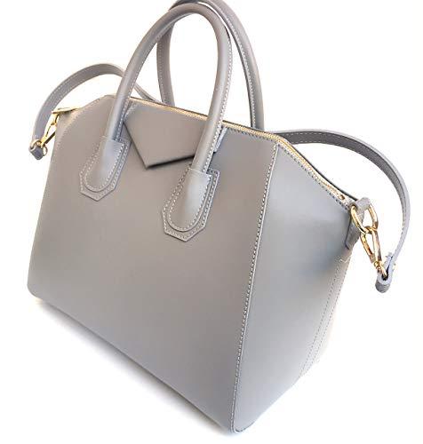 Superflybags Damentasche echt leder Modell Rebecca Einzigartige Tasche hergestellt mit besonderem glattem Leder