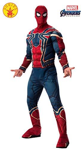 Herren Für Erwachsene Deluxe Kostüm - Rubie's Offizielles Avengers Iron Spider, Spiderman Deluxe Erwachsene Herren Kostüm