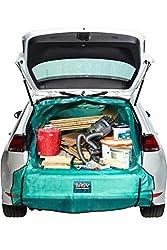 Bagy® - DAS ORIGINAL | Kofferraumschutz | Auto-Transportsack | Kofferraummatte | Für alle Fahrzeug-Modelle | Auto Transport-Tasche für Gartenabfälle, Holz & Bauschutt | Universalgröße M-XXL