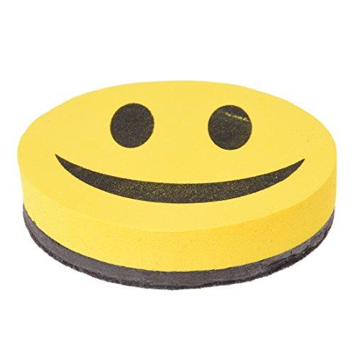 TOOGOO (R) Borrador Magnetico en Seco Sonrisa para Pizarra EVA Escuela Nuevo